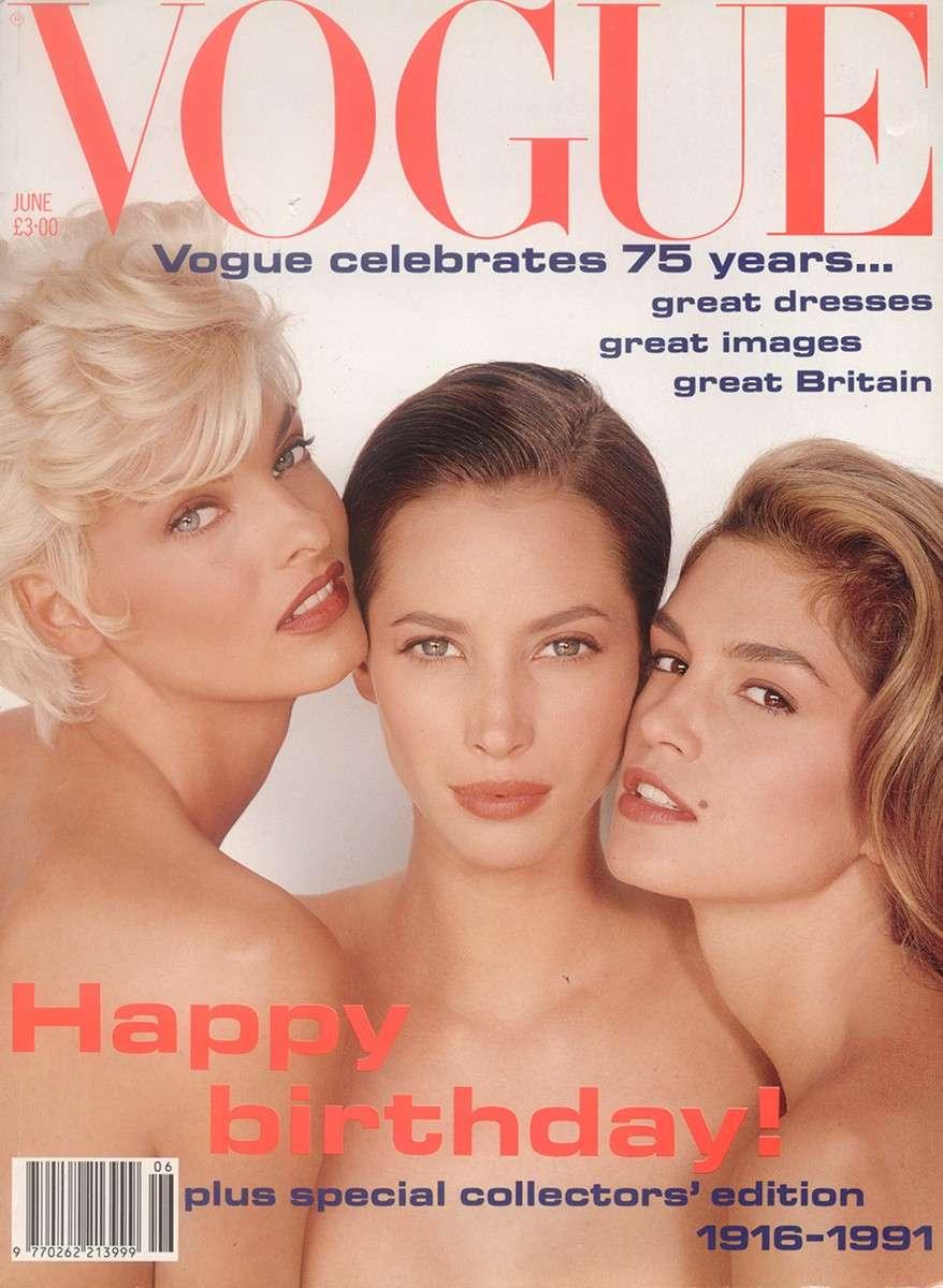 Herb Ritts : Vogue (British), June 1991