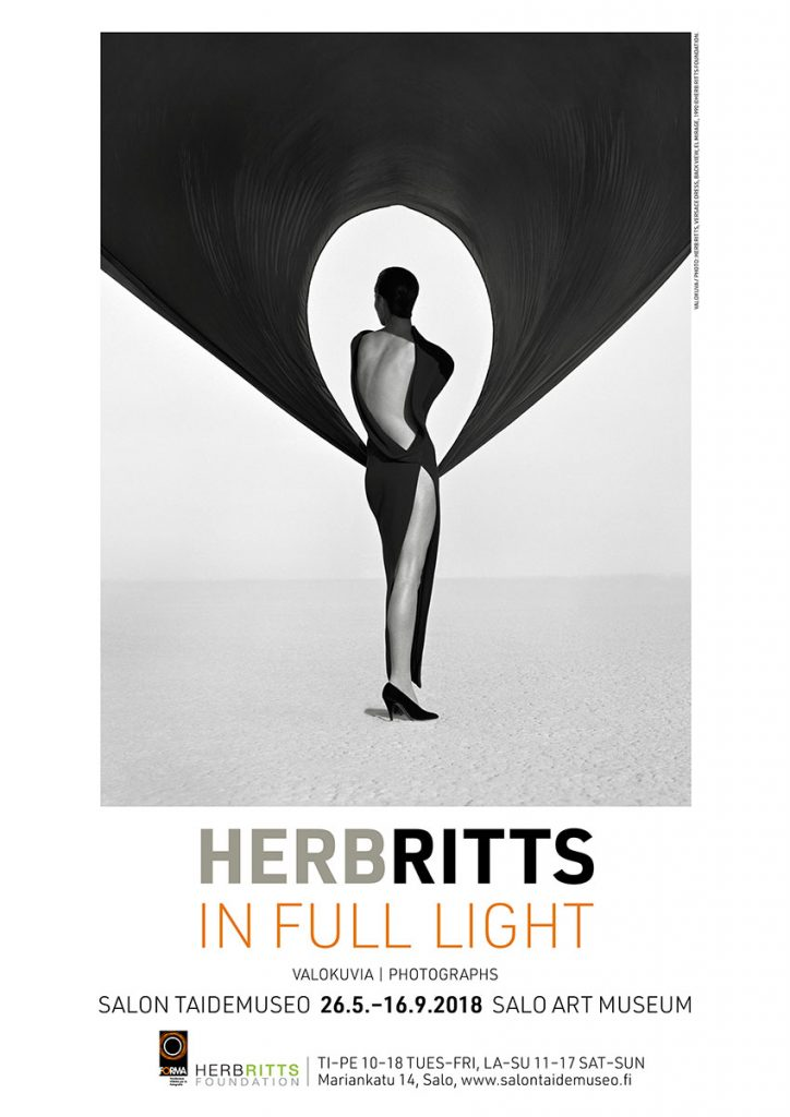 First Exhibition Of Herb Ritts Photographs In Finland